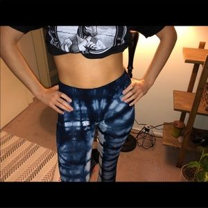 Forever 21 tie dye hippie pants